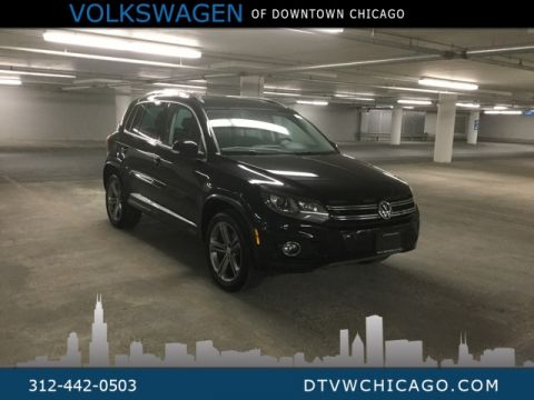 Certified Pre-Owned 2017 Volkswagen Tiguan Sport 4Motion Kessy/Bi-Xenon Lights/ App-Connect/Touch S