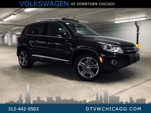 Certified Pre-Owned 2017 Volkswagen Tiguan Sport 4Motion Kessy/Pano/App-connect/Navi
